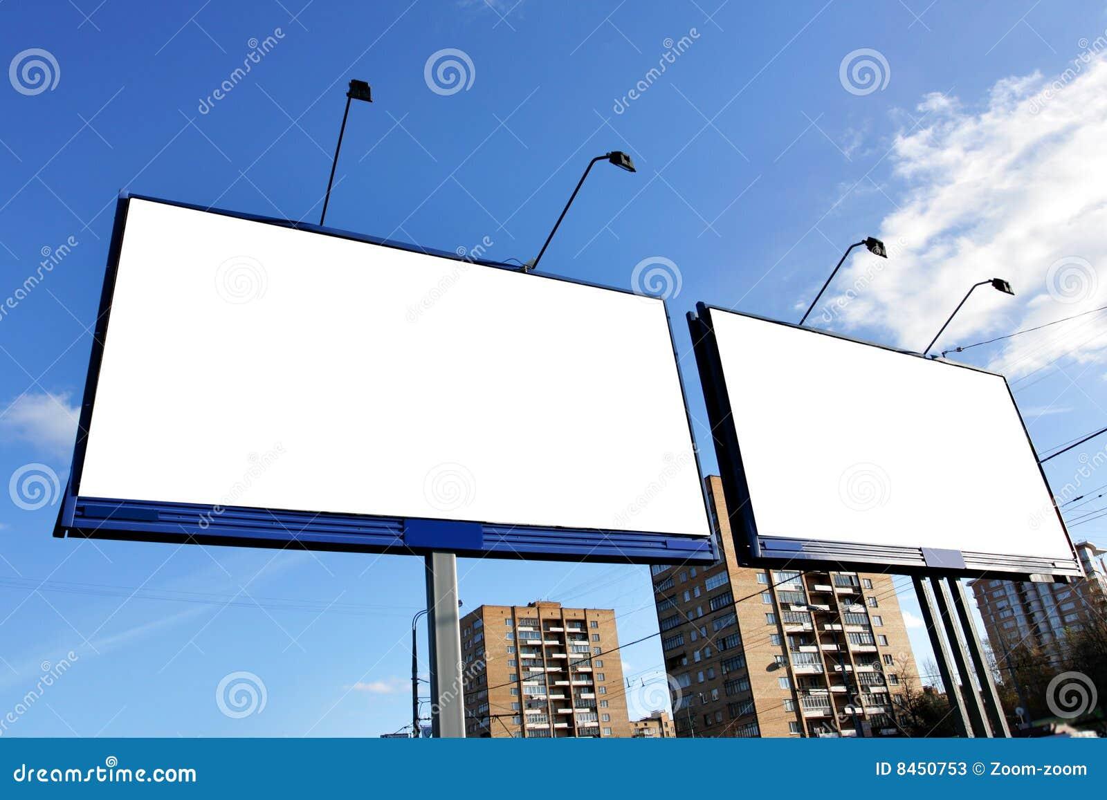 Annonsering av gatan