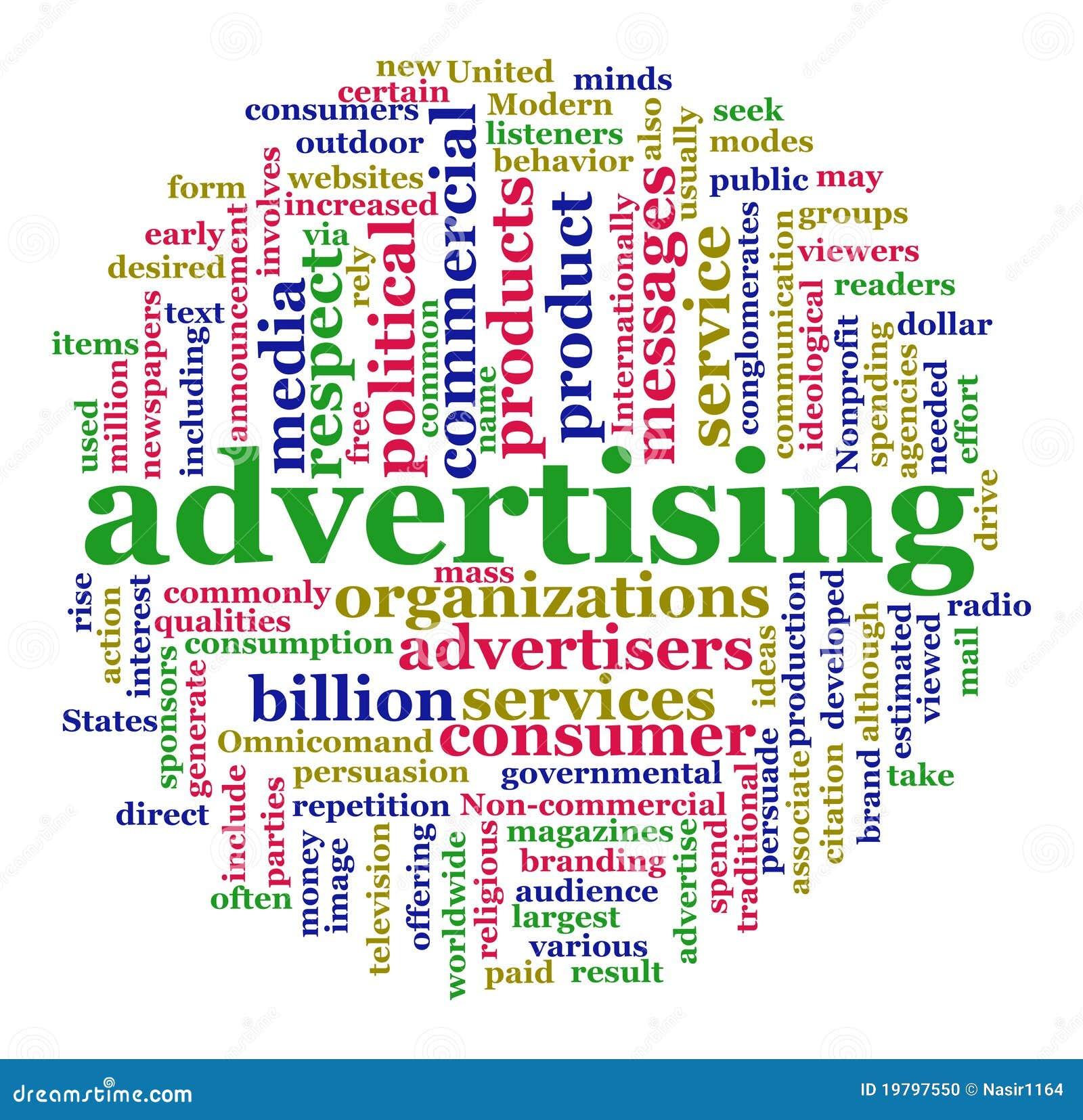 Annonsering av wordcloud