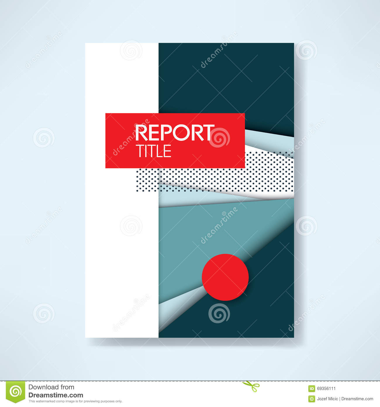 Brochure Template Cover Design Annual Report Stock Vector     cover business professional report