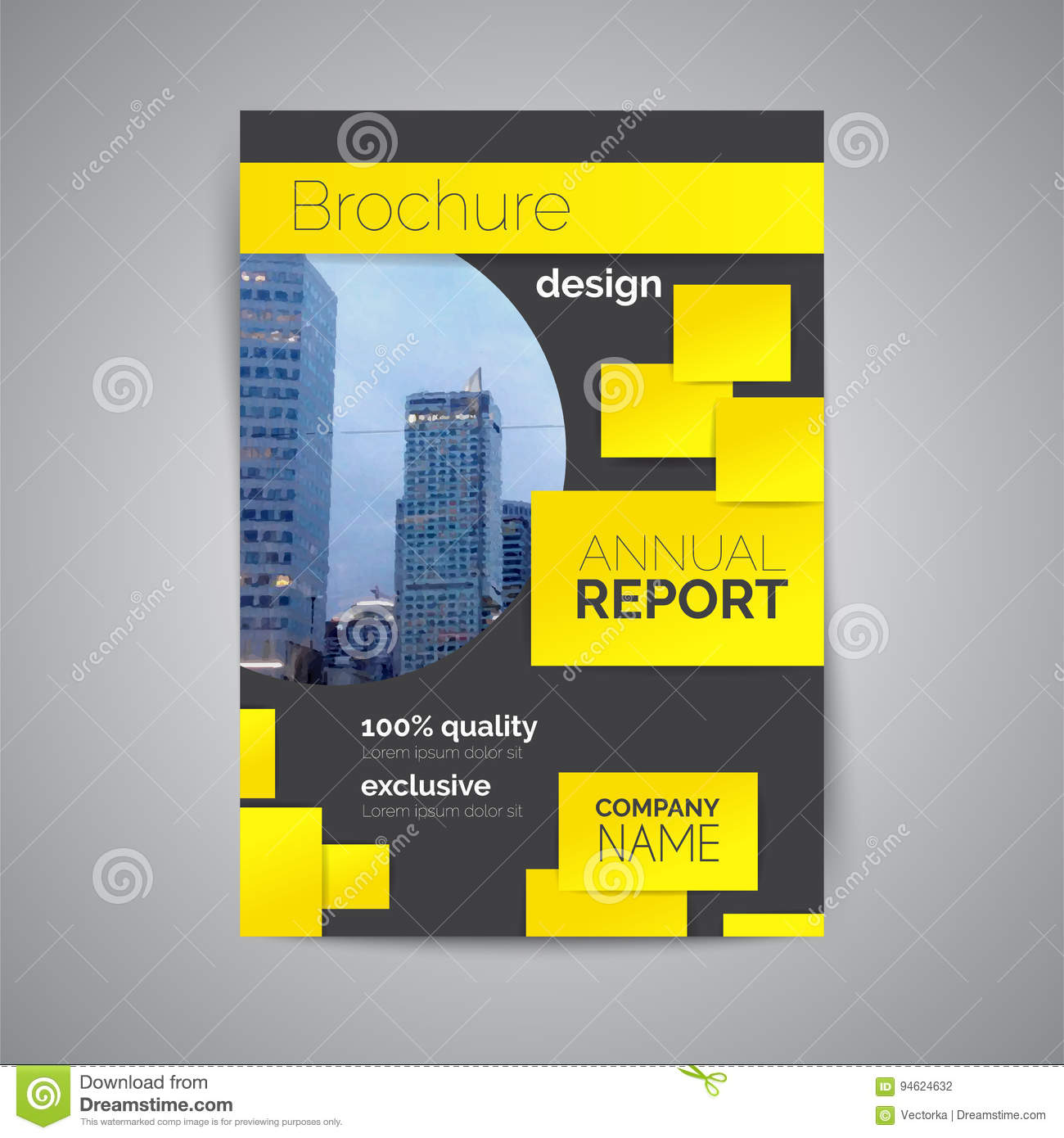book cover template illustrator - annual report book cover template abstract business