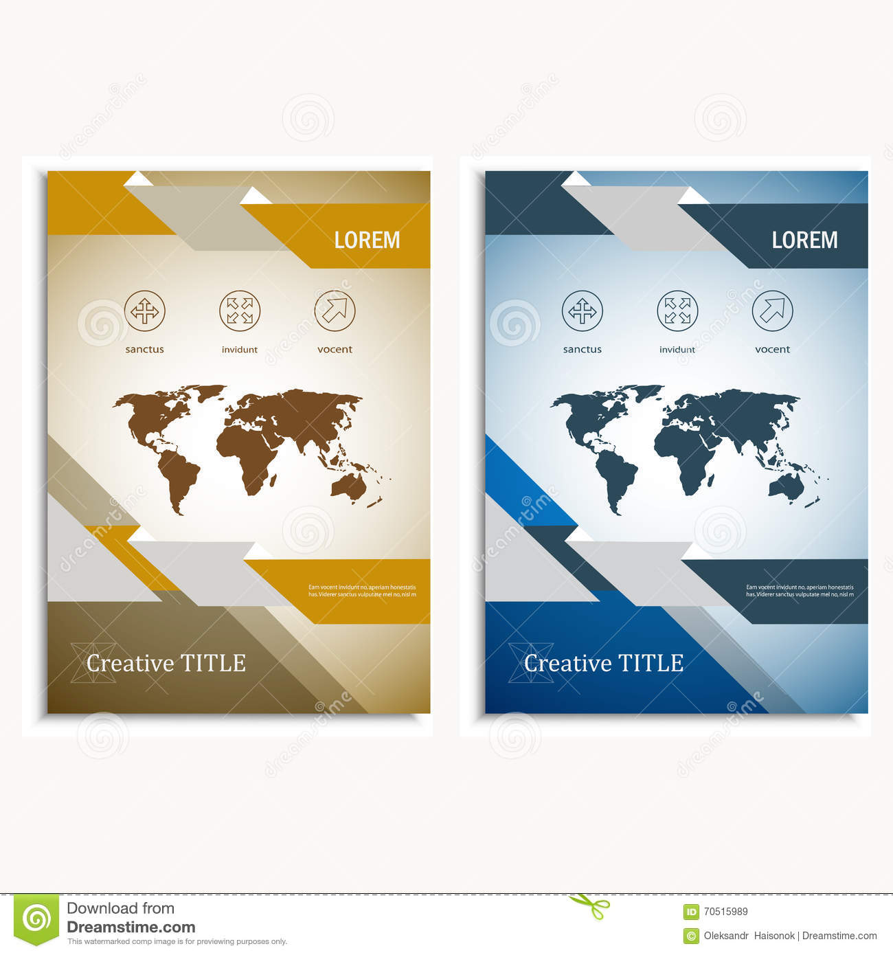 Annual Report Brochure Flyer Design Template Vector, Map Design, Cover  Template  Annual Report Cover Template
