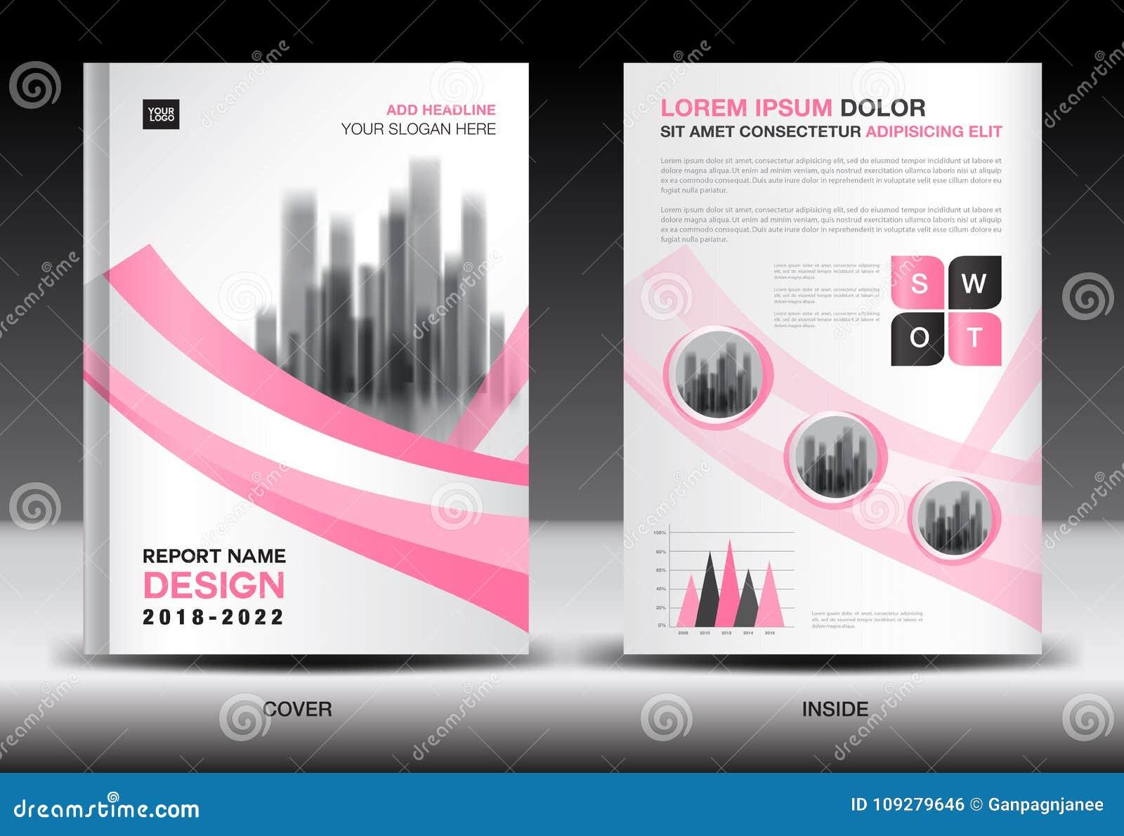 Annual Report Cover Design Brochure Flyer Template Business Advertisement Company Profile Stock Vector Illustration Of Magazine Annual 109279646