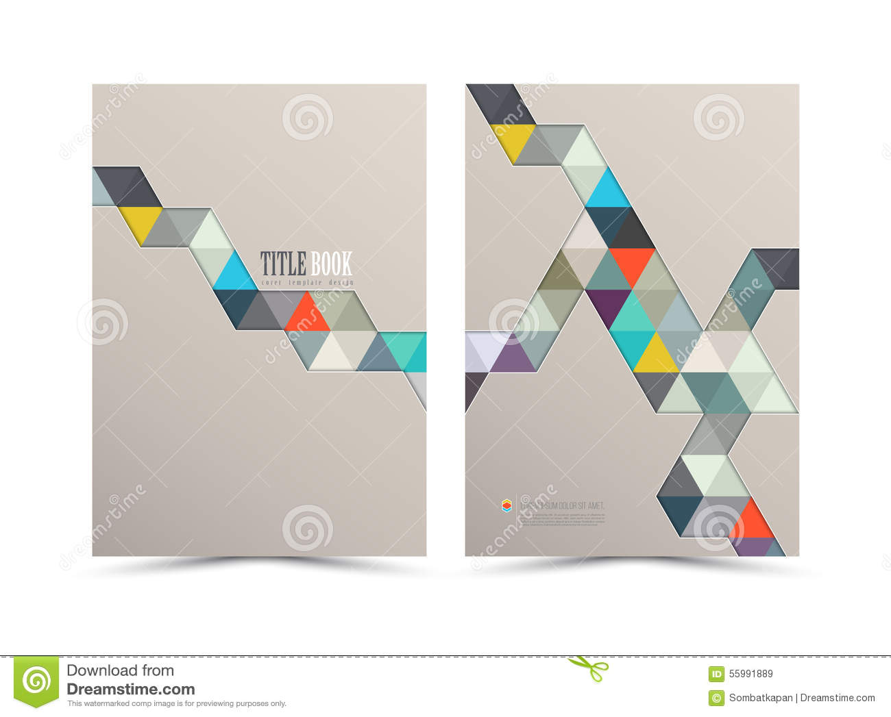 annual report cover design stock vector image  annual report cover design