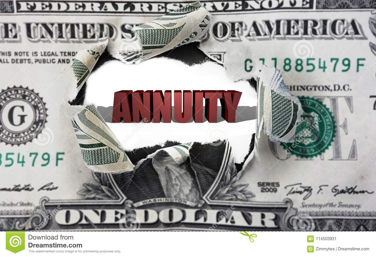 Annuity and dollar