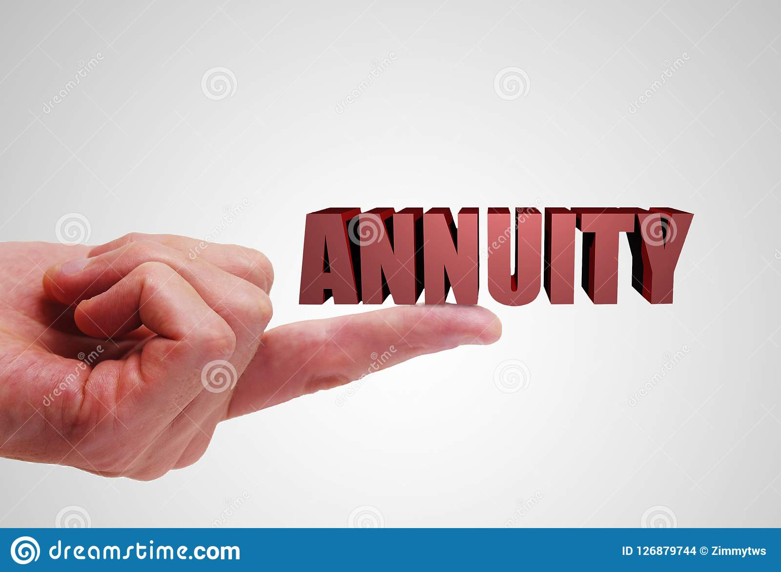 annuity investment concept stock photo image of retirement 126879744