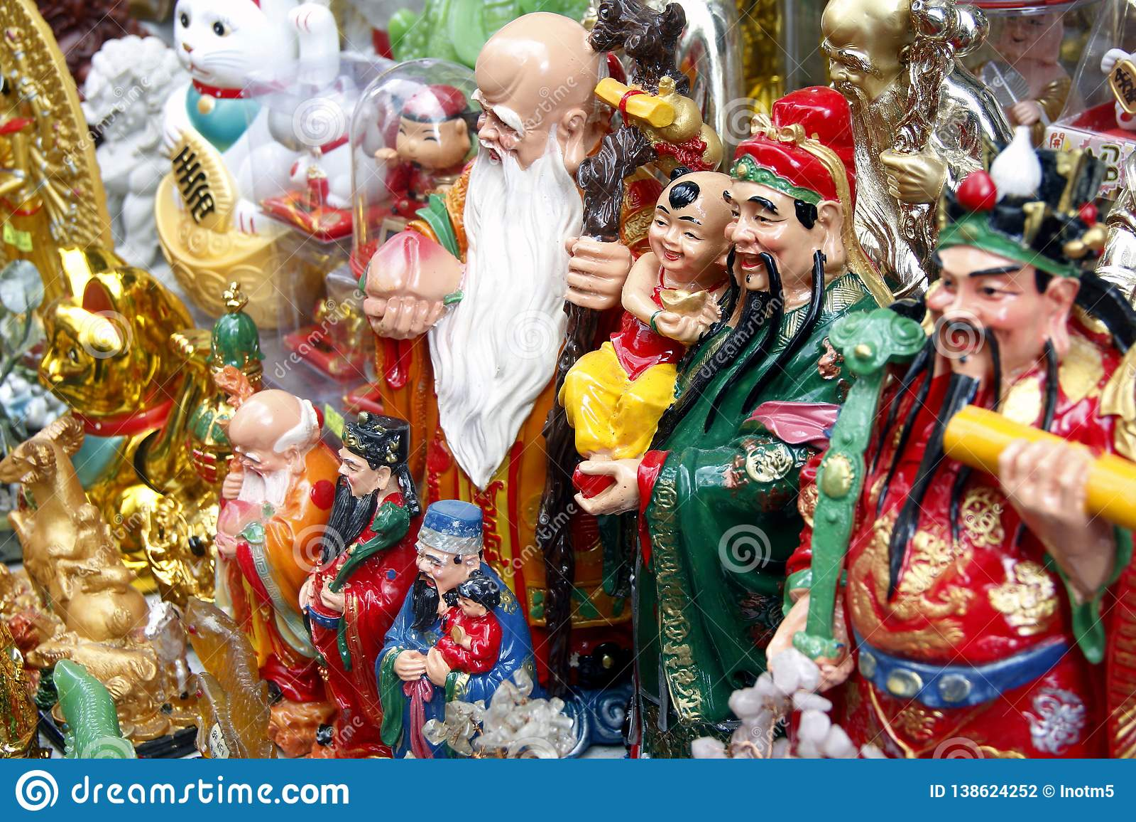 Ano novo chinês no bairro chinês de Manila