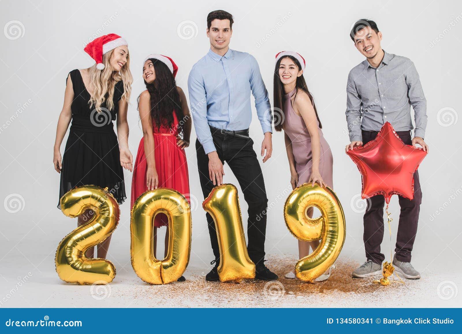 Ano novo 2019 do celabrate dos povos da diversidade
