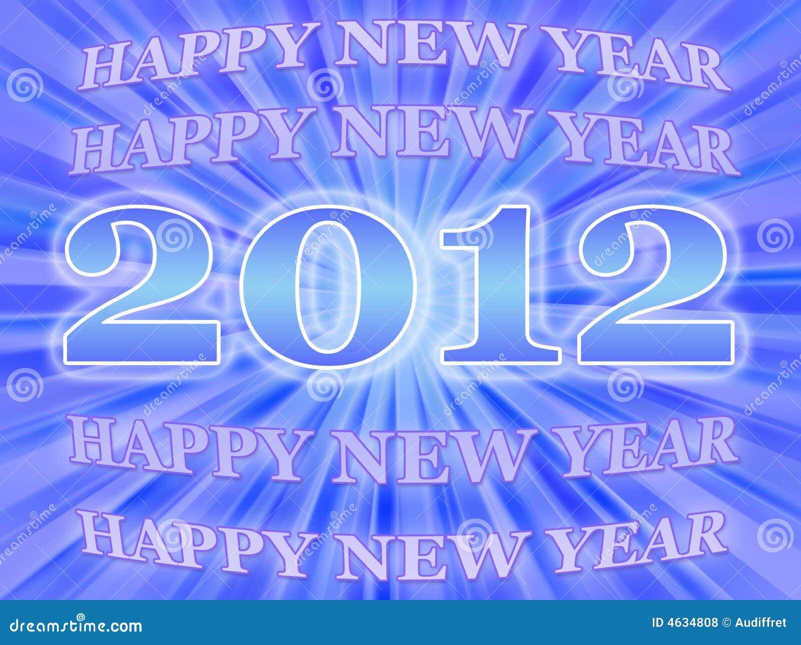 Ano novo feliz 2012