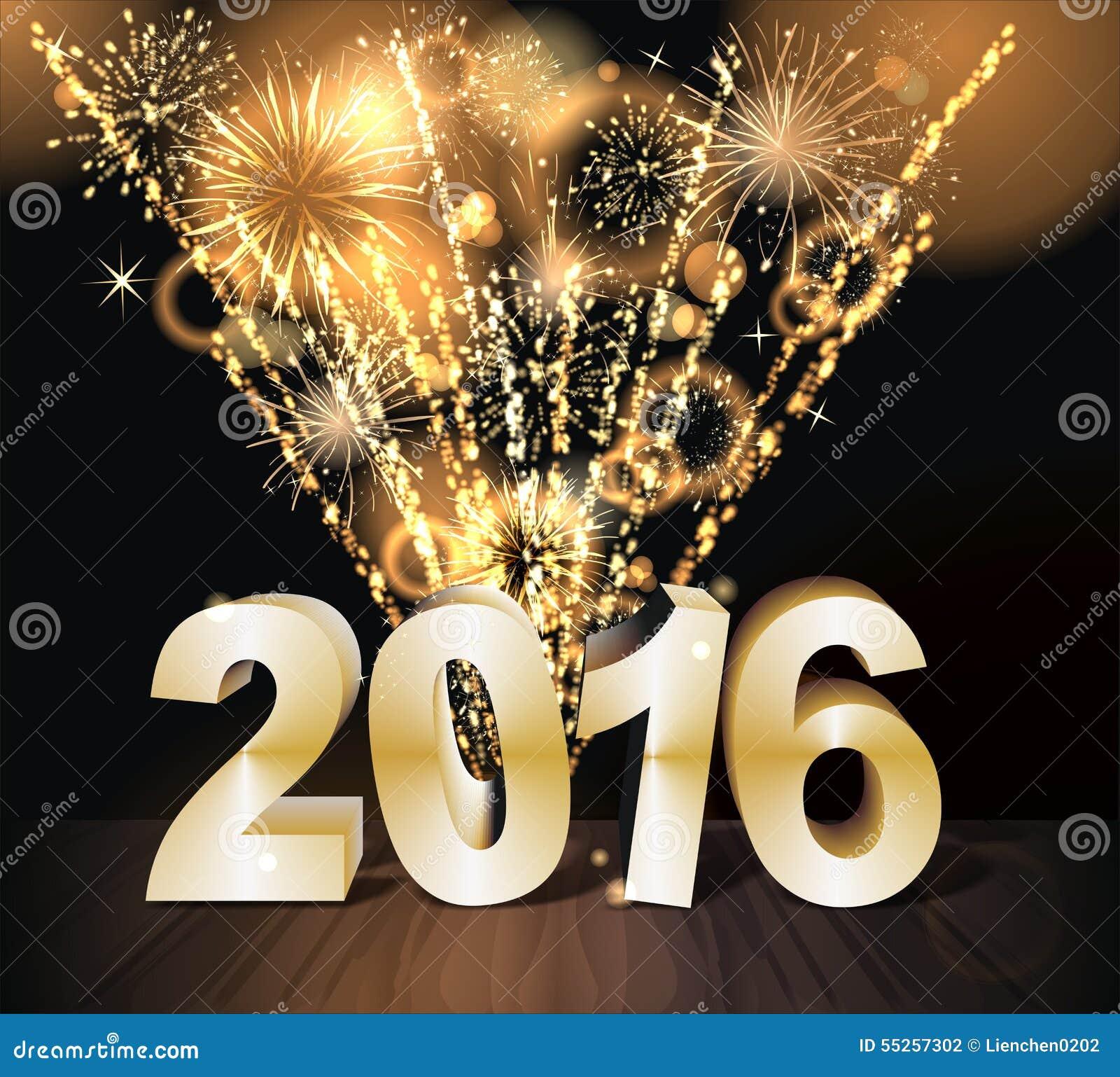 Ano novo feliz 2016