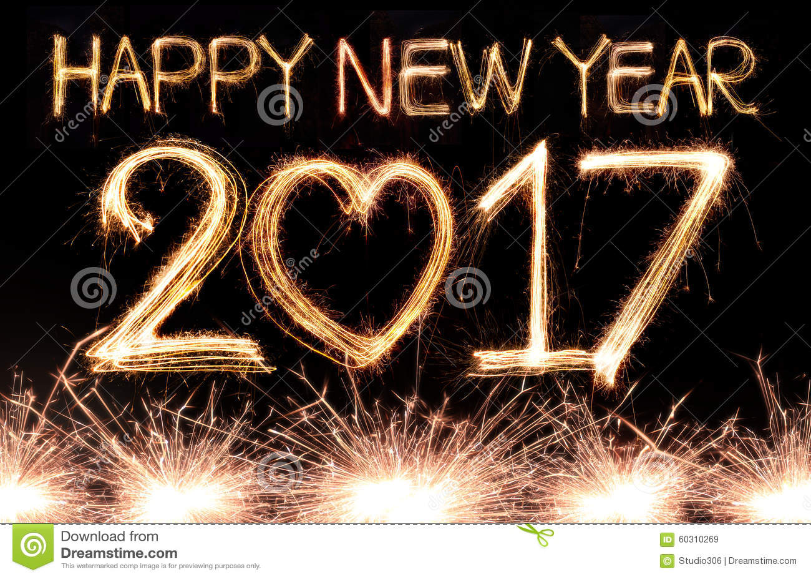 Ano novo feliz 2017