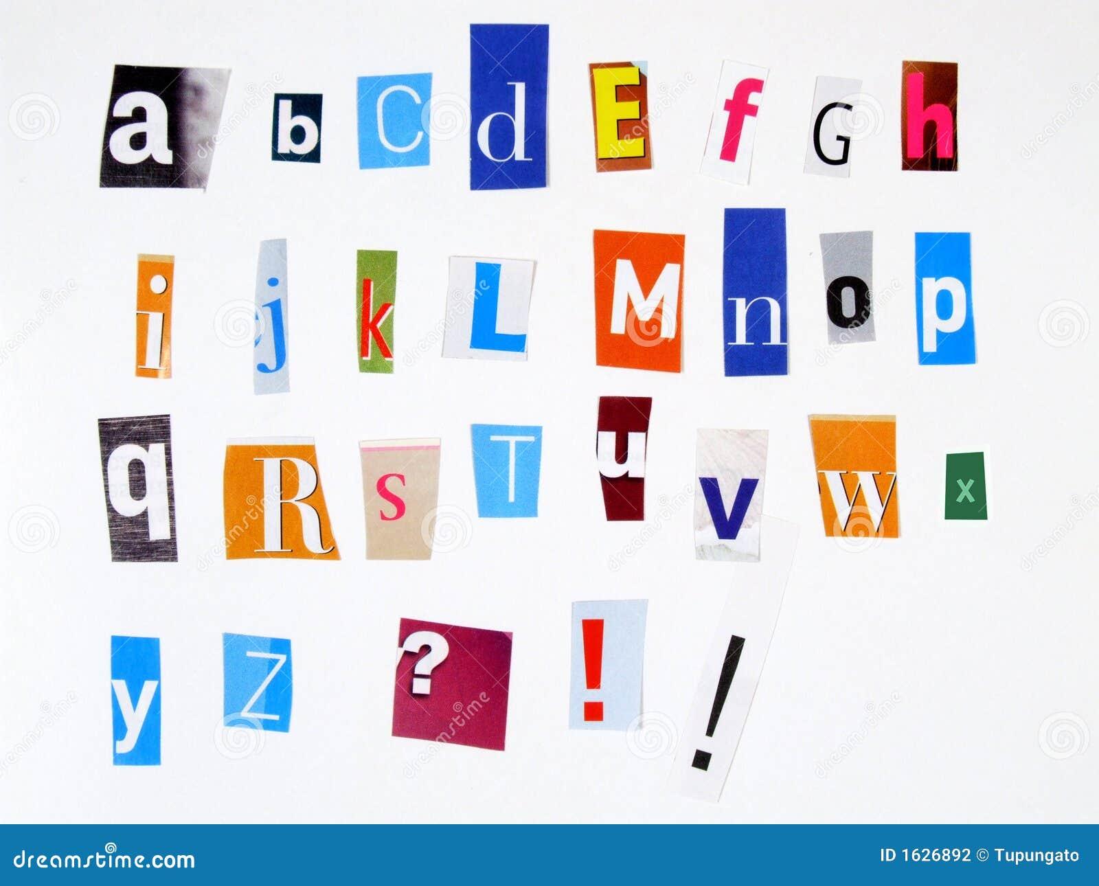 Magazine word background stock photography image 12291482 - Anoniem Alfabet Stock Fotografie