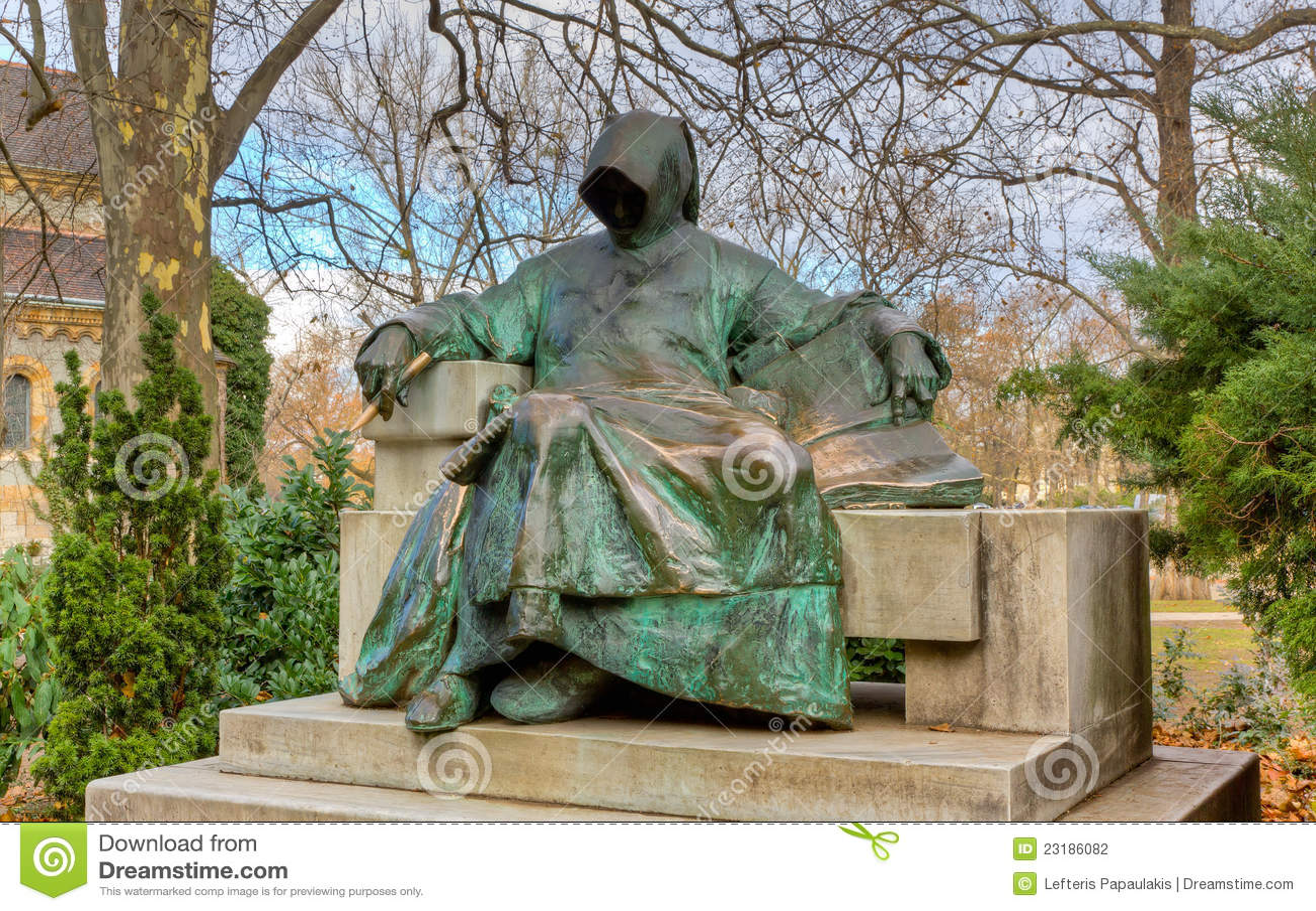 Anonimowy Budapest grodowy statuy vajdahunyad
