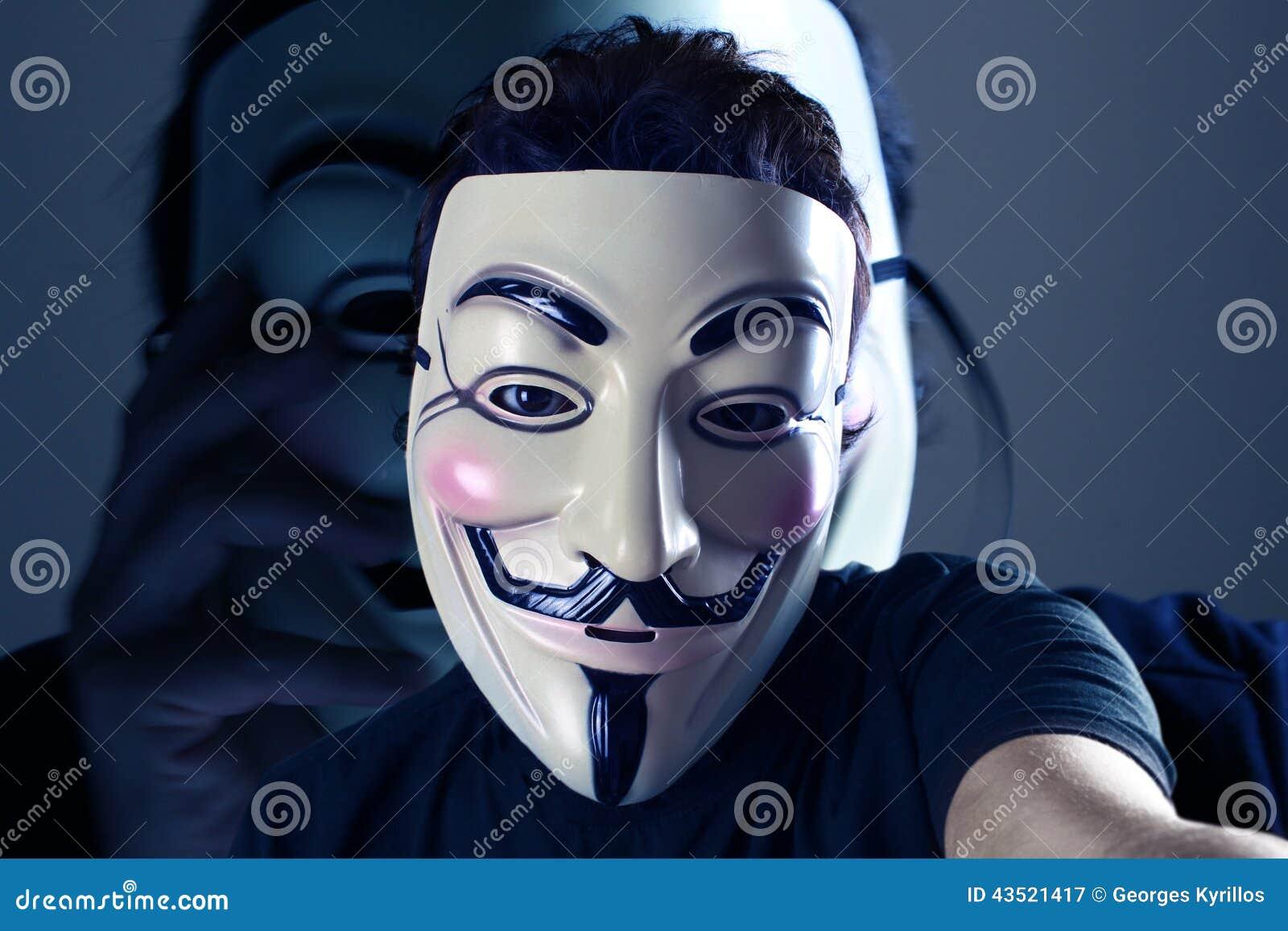 Anonimowy Selfie