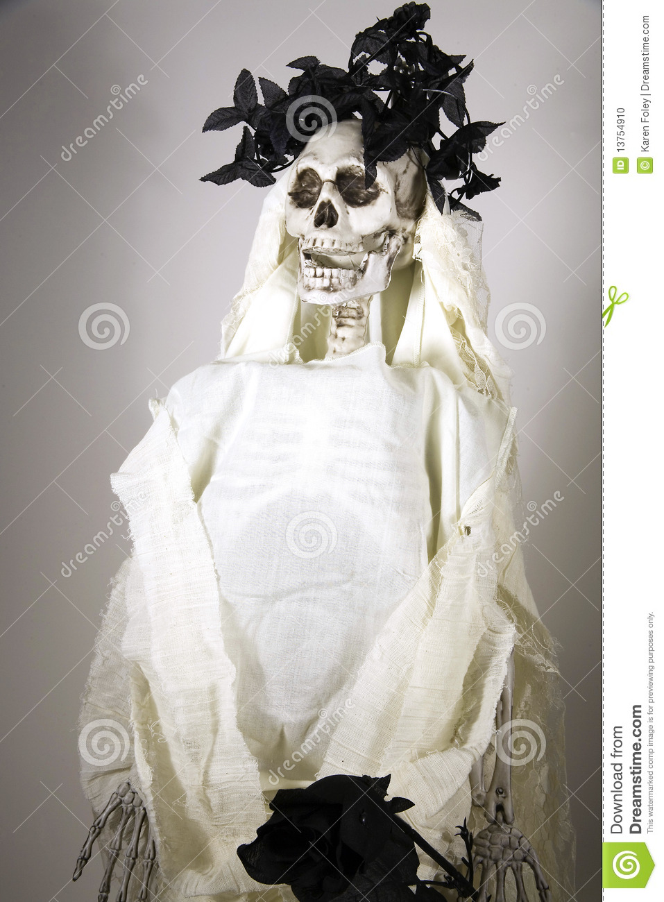 anorexic bride stock photo image 13754910
