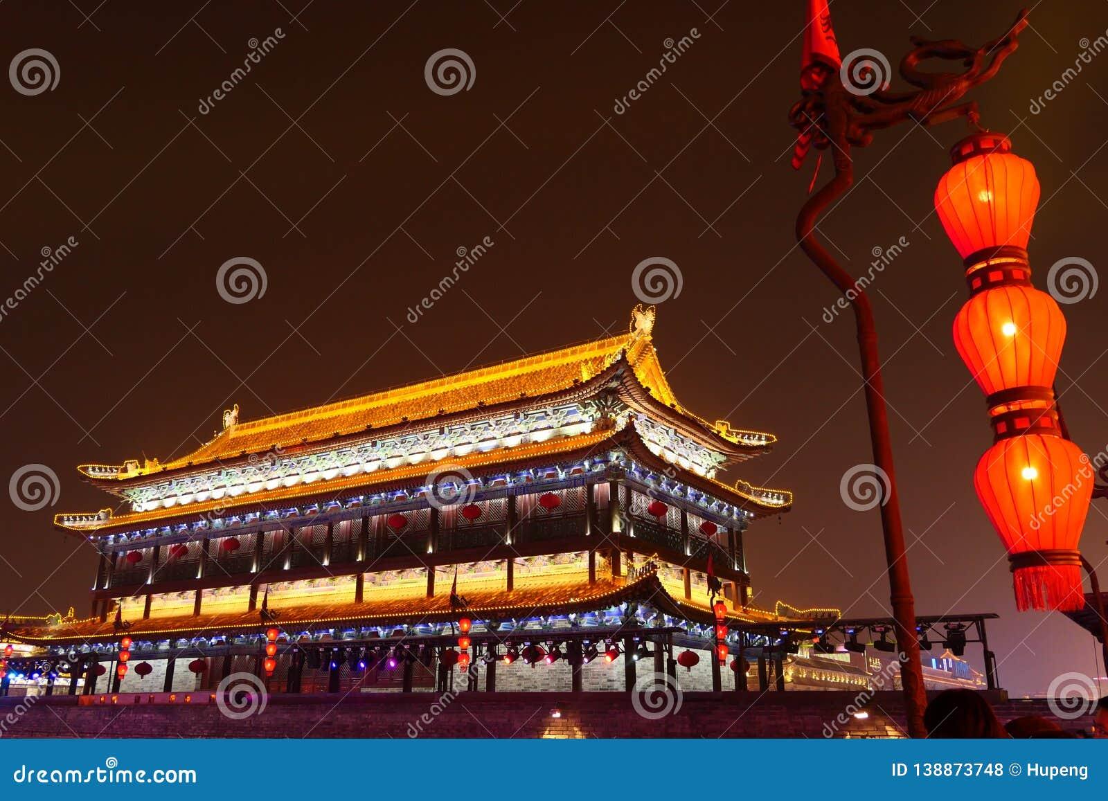 2019 anos novos chineses em Xian