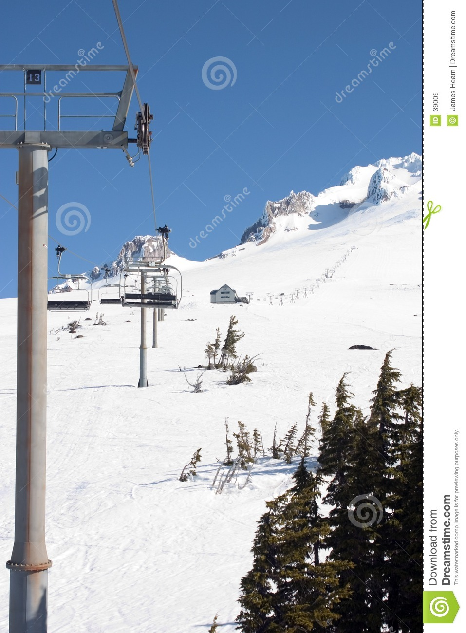 Another Ski Lift on Mt Hood.