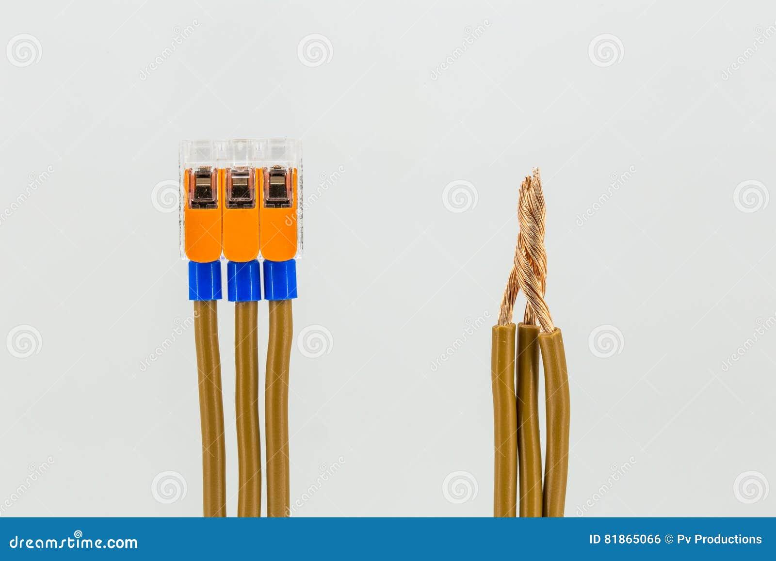 Ungewöhnlich Elektrische Kabel Anschließen Zeitgenössisch - Die ...