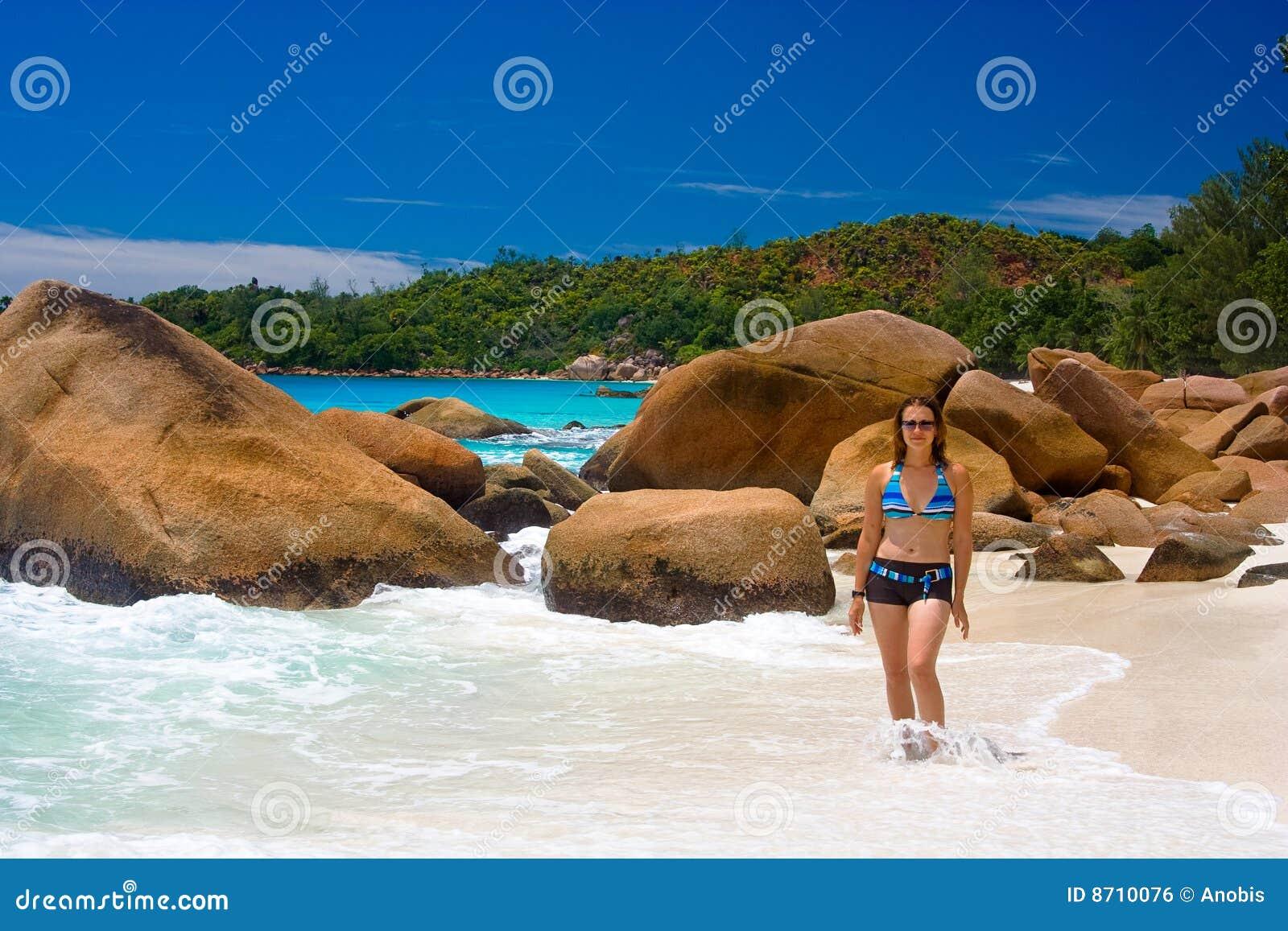 Anse beachs lanzio