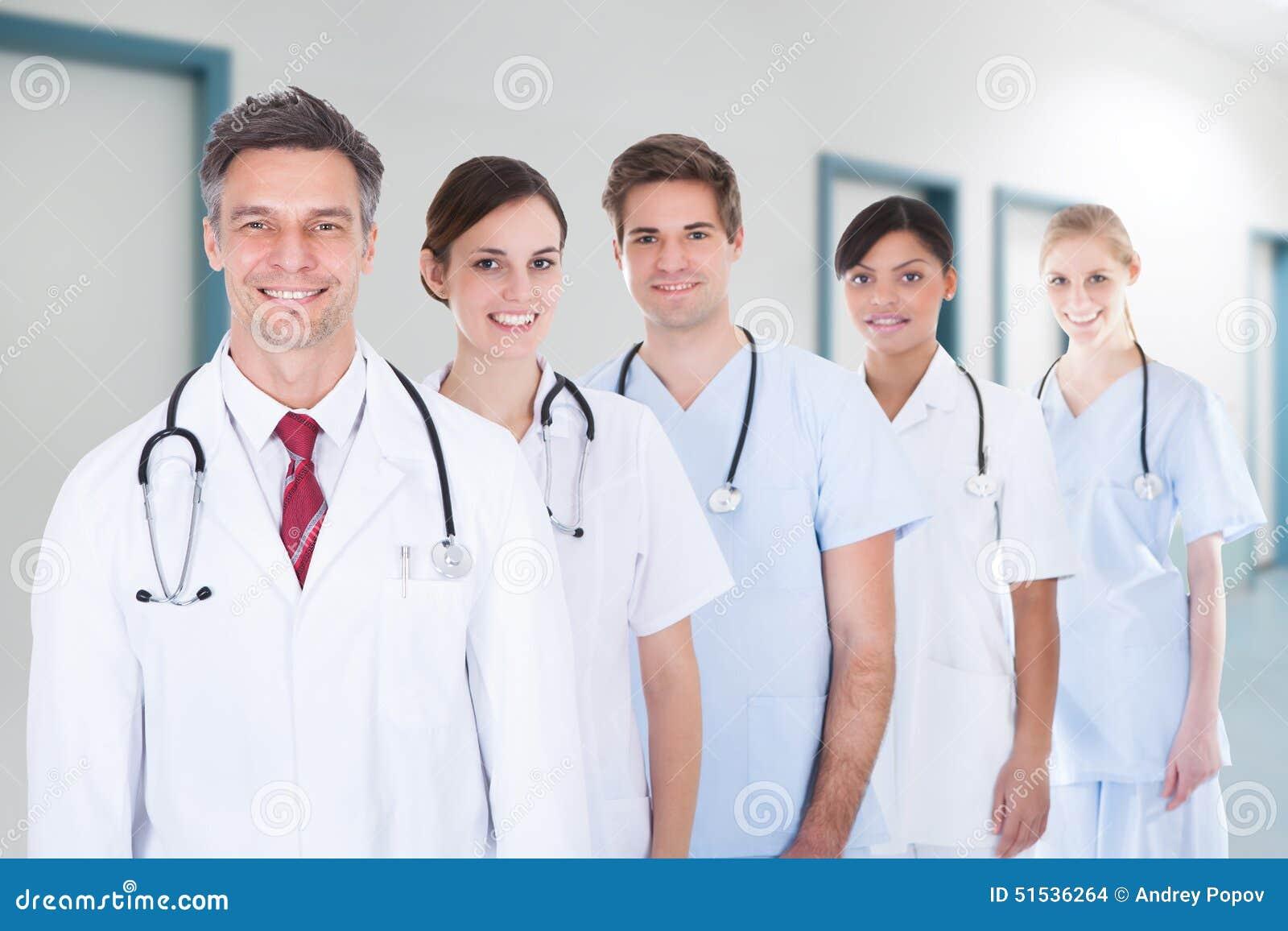 Anseende för medicinskt lag i rad på sjukhuset
