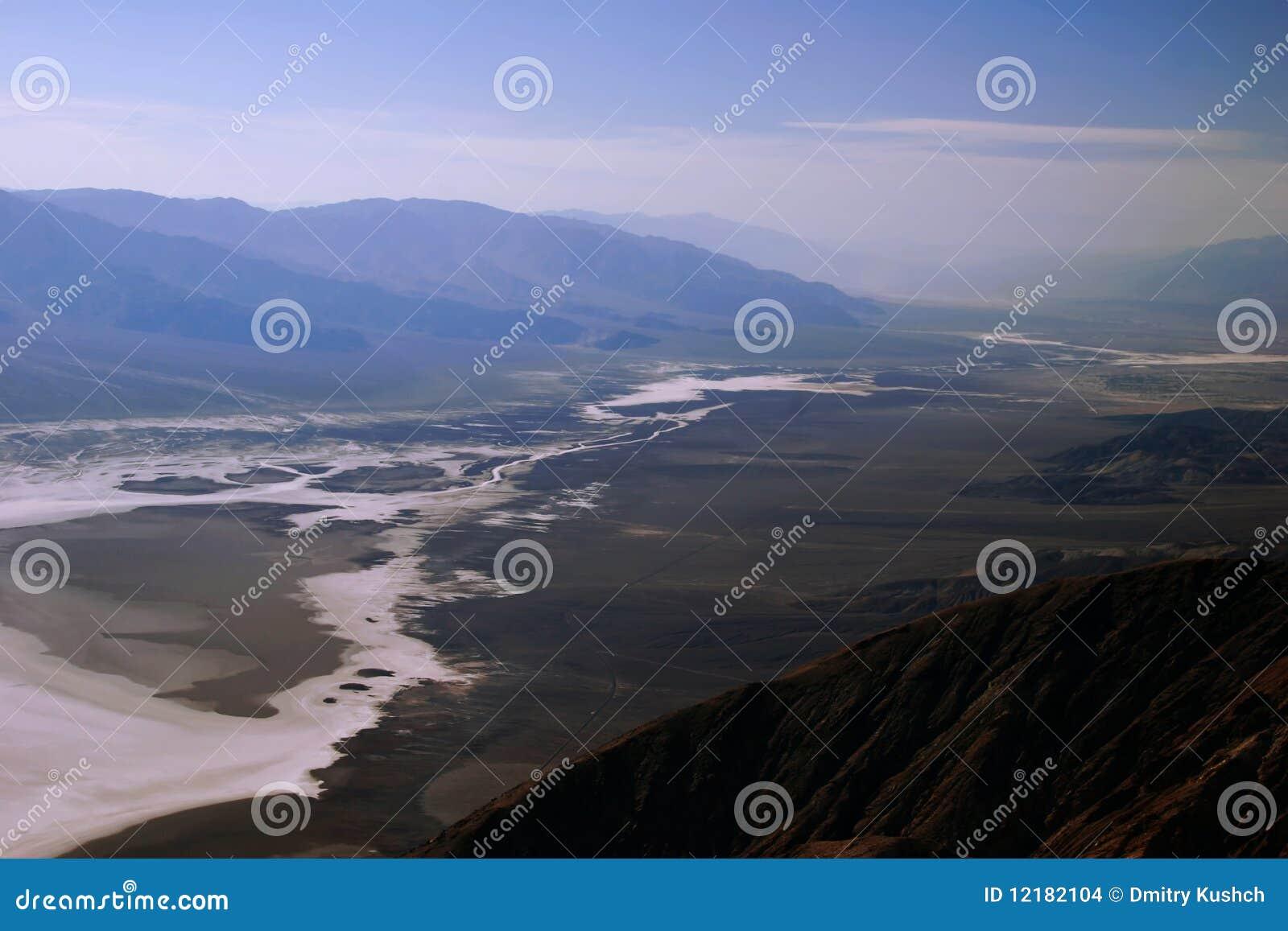 Ansicht über Death Valley