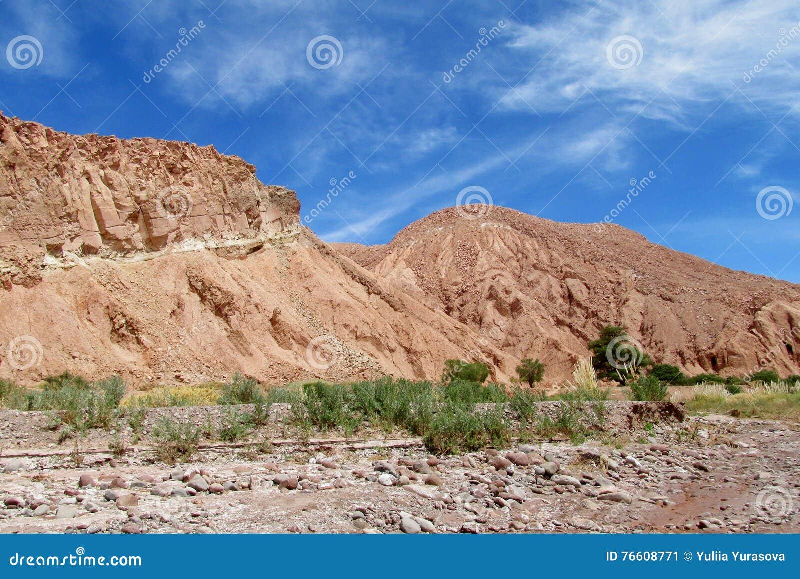 Ansicht über Valle Quitor, San Pedro de Atacama