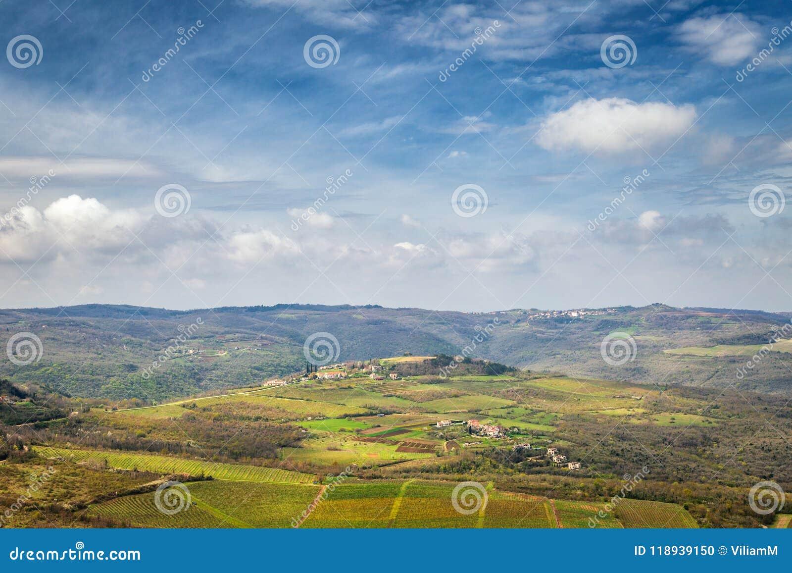 Ansicht der Gebirgslandschaft
