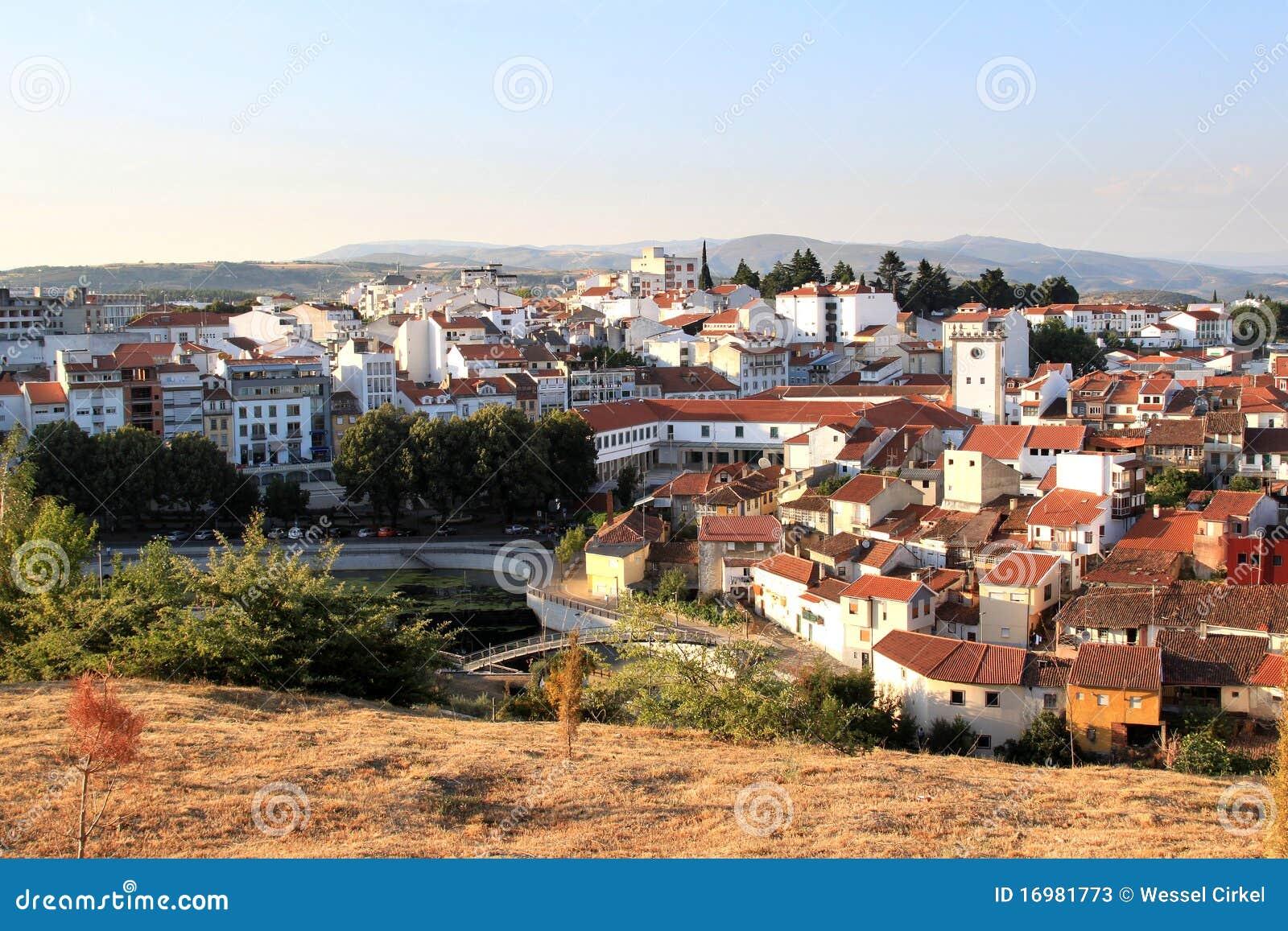 Ansicht Der Historischen Stadt Von Braganca Portugal