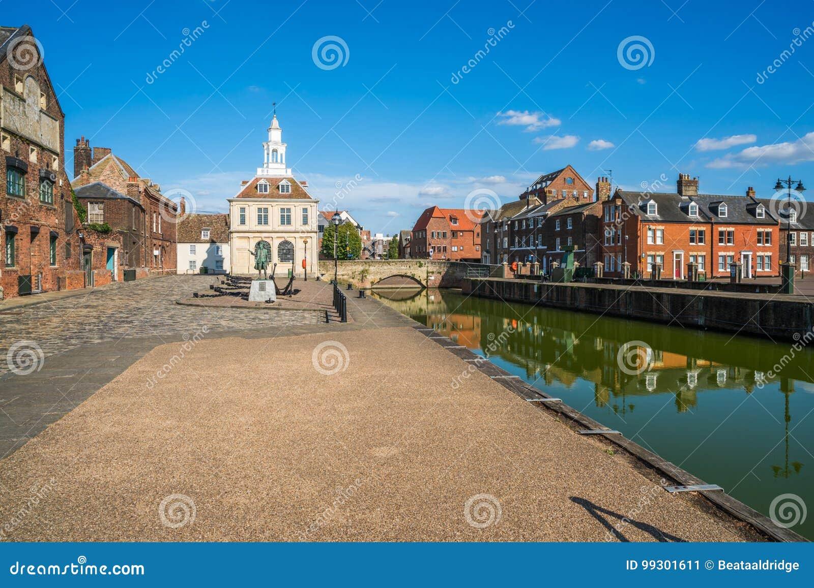 Ansicht des alten Zollamts an König ` s Lynn, Norfolk