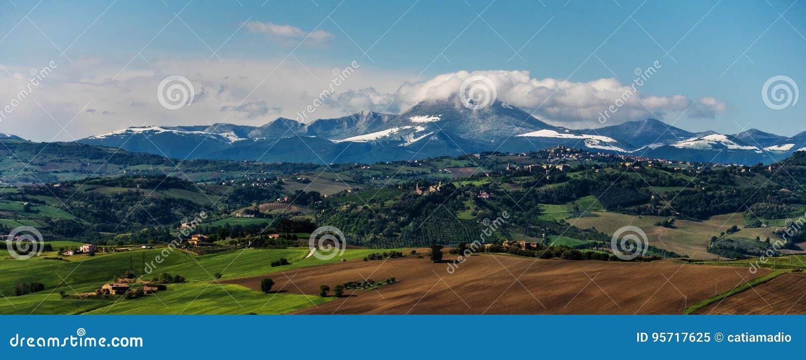 Ansicht des Apennines