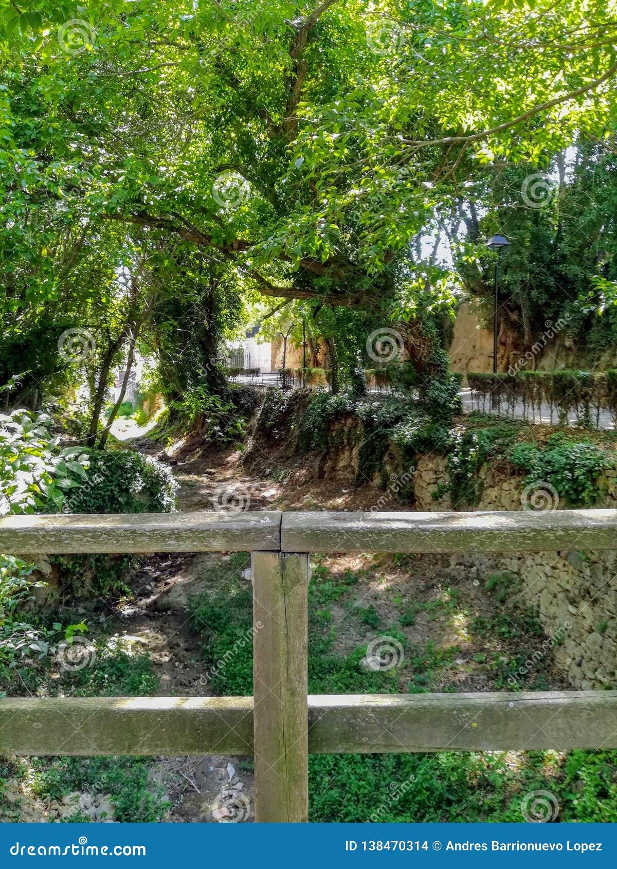 Ansicht des Kanals der Naturlandschaft von La Floresta