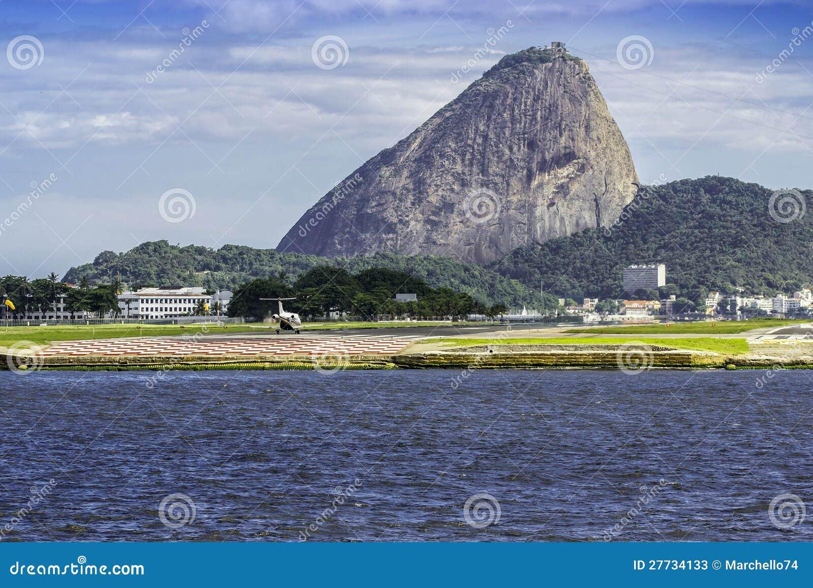 Ansicht des Zuckerlaibberges in Rio de Janeiro