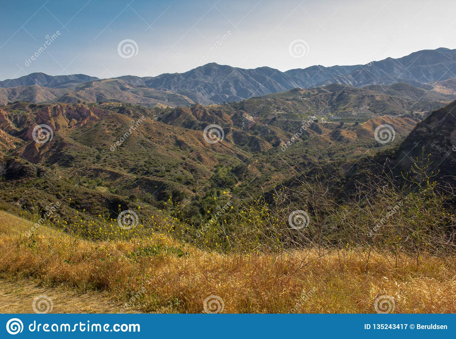 Ansicht innerhalb des Weißfisch-Ranch-Wildnis-Parks
