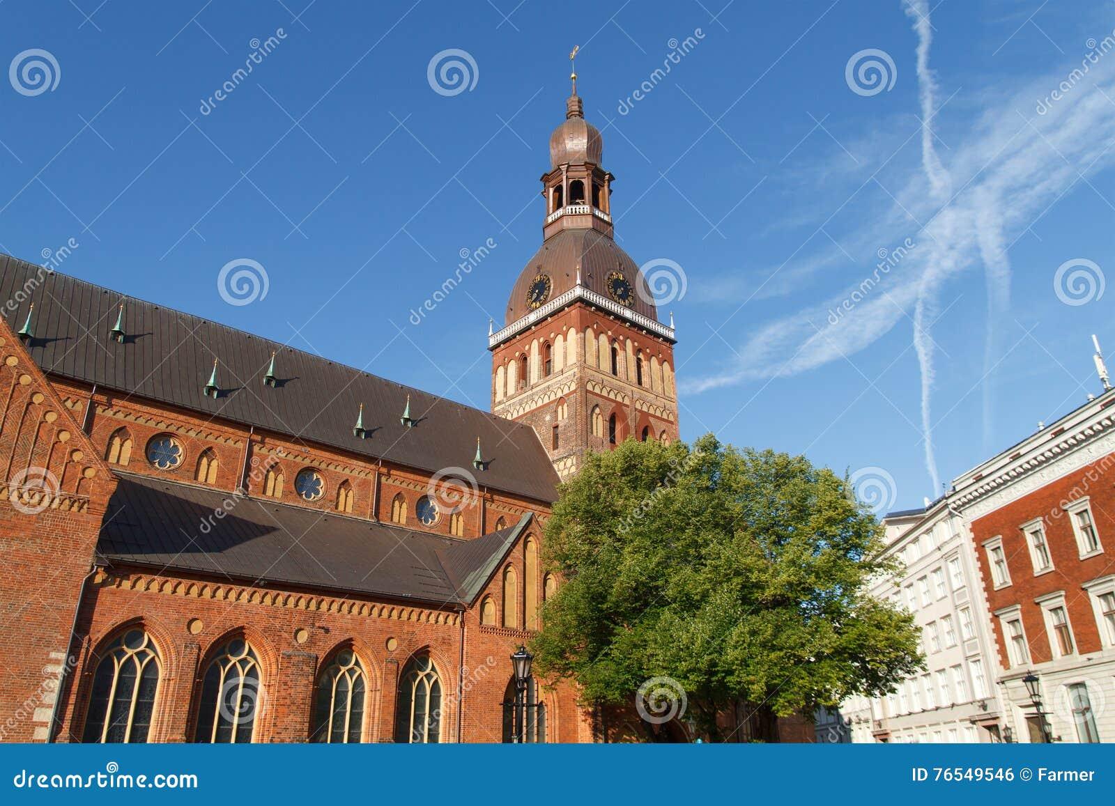 Ansicht in Riga, Lettland