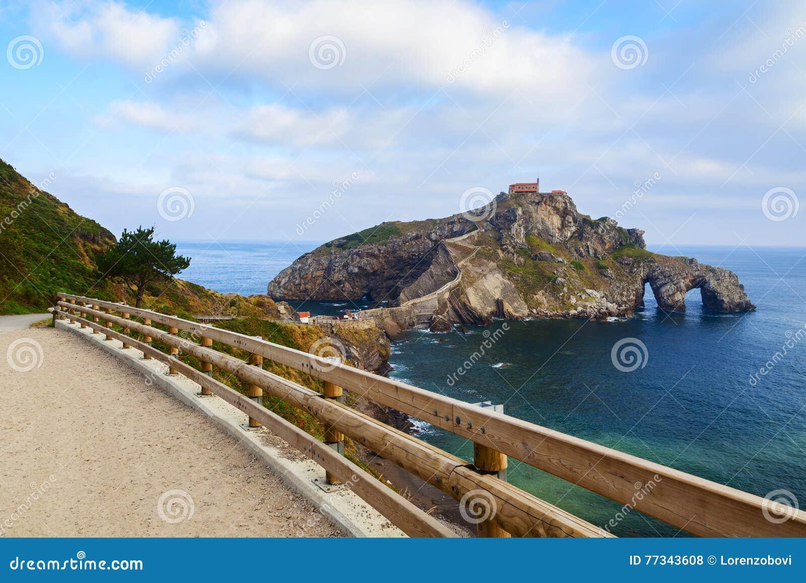 Ansicht San Juan de Gatzelugatxe