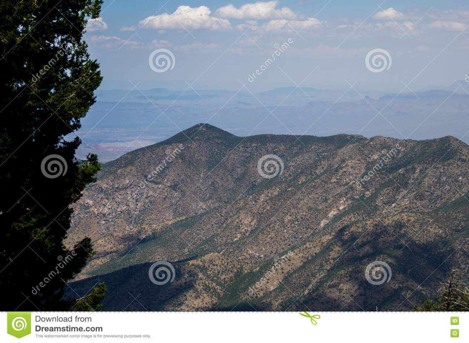 Ansicht vom Berg Lemmon Tucson Arizona