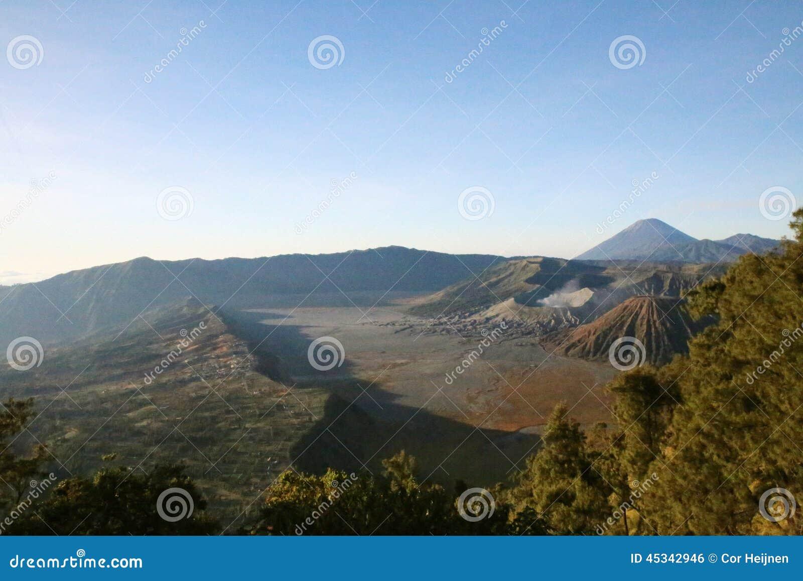 Ansicht vom Bromo-Vulkan