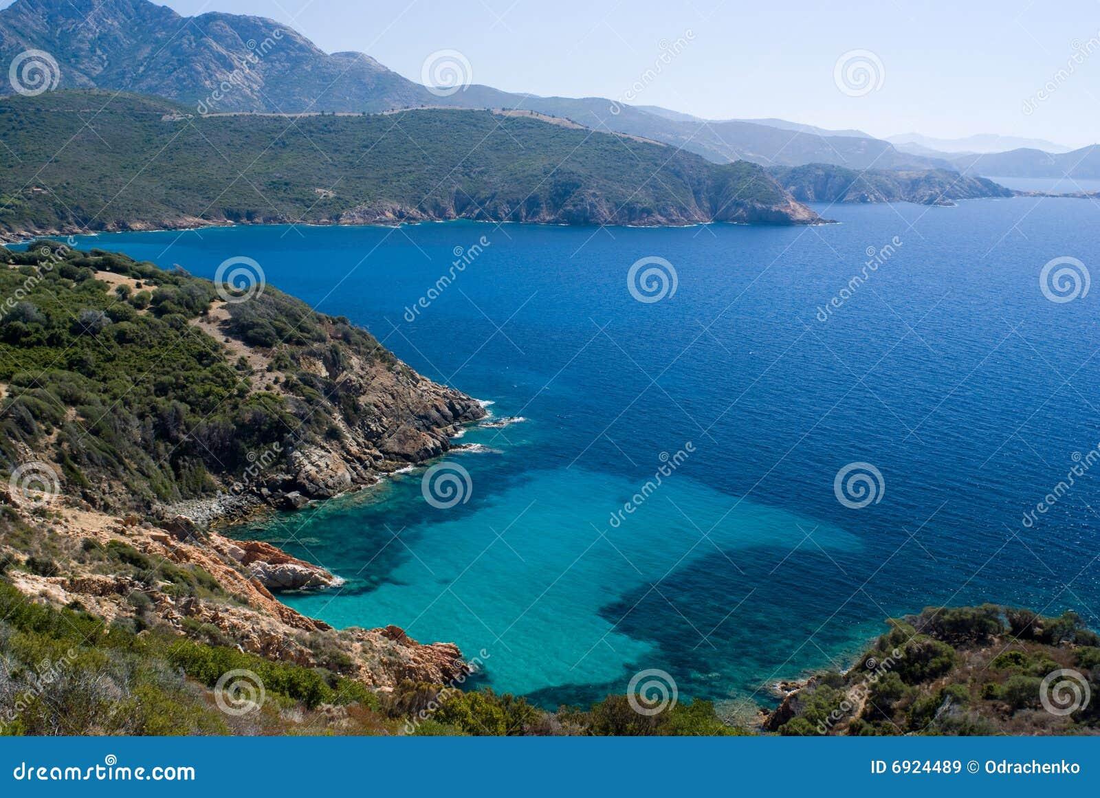 Ansicht vom Capo Rosso