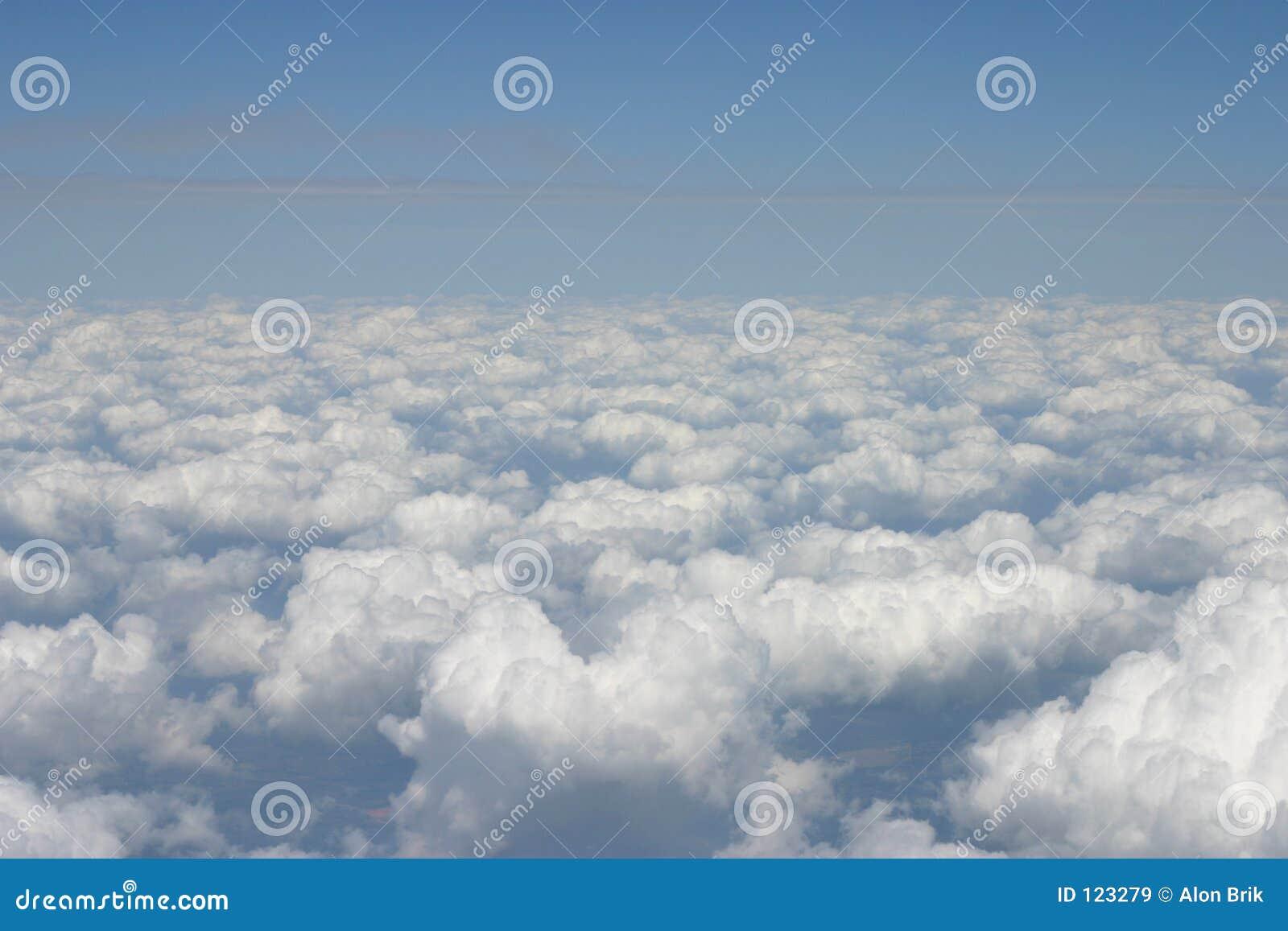 Ansicht vom Flugzeug