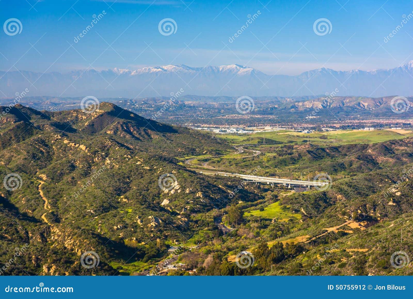 Ansicht von Bergen von der Weltspitze, im Laguna Beach