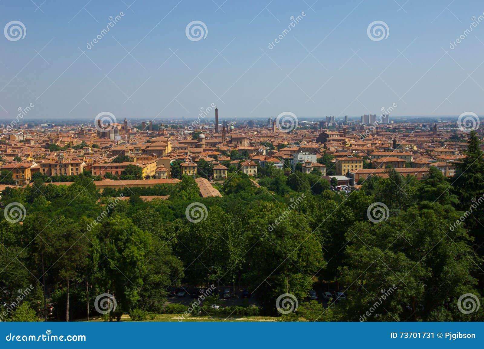 Ansicht von Bologna