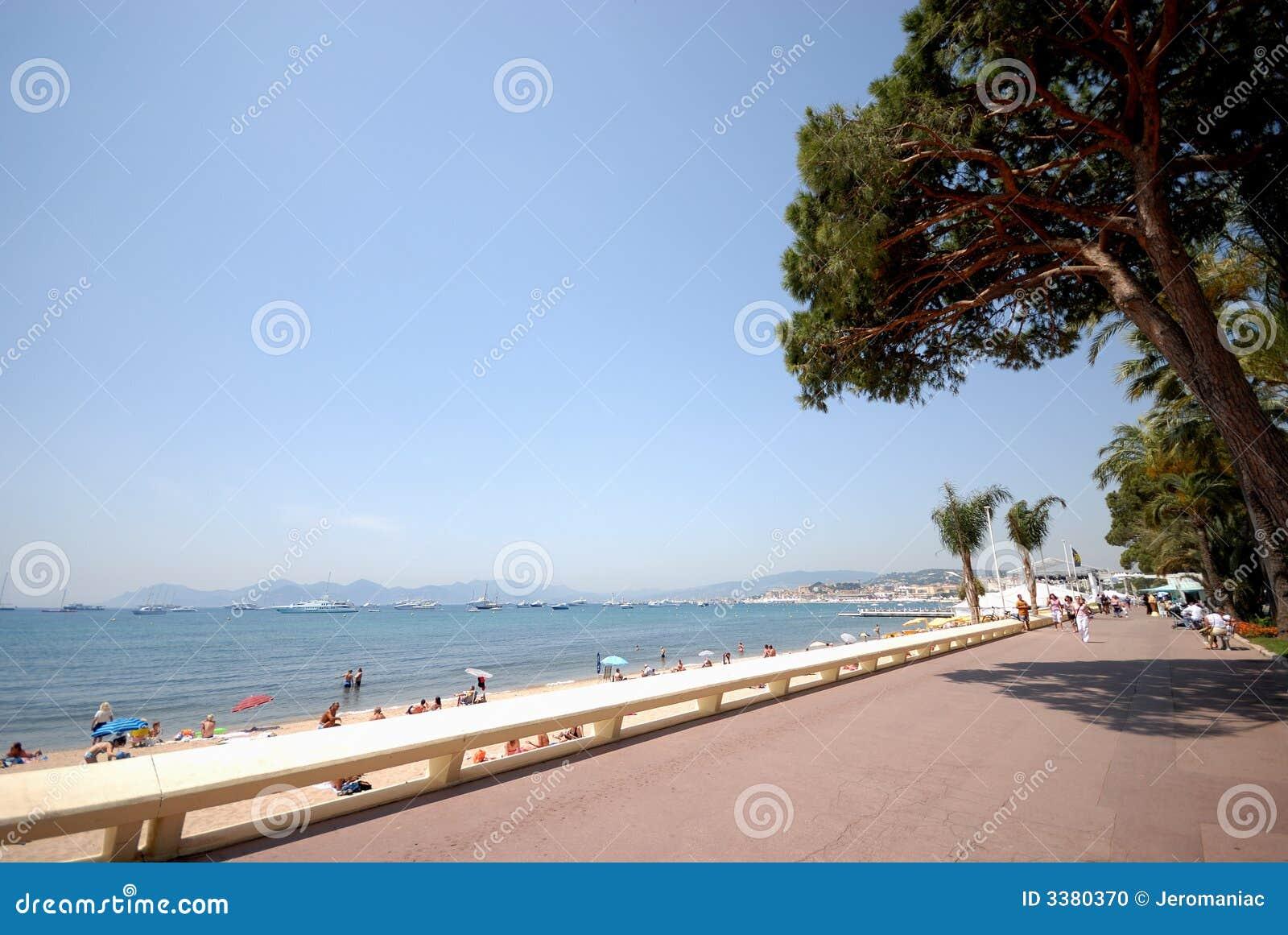 Ansicht von Cannes (französischer Riviera