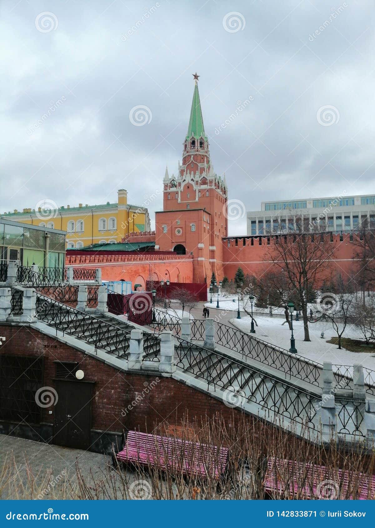 Ansicht von einem der der Kreml-T?rme