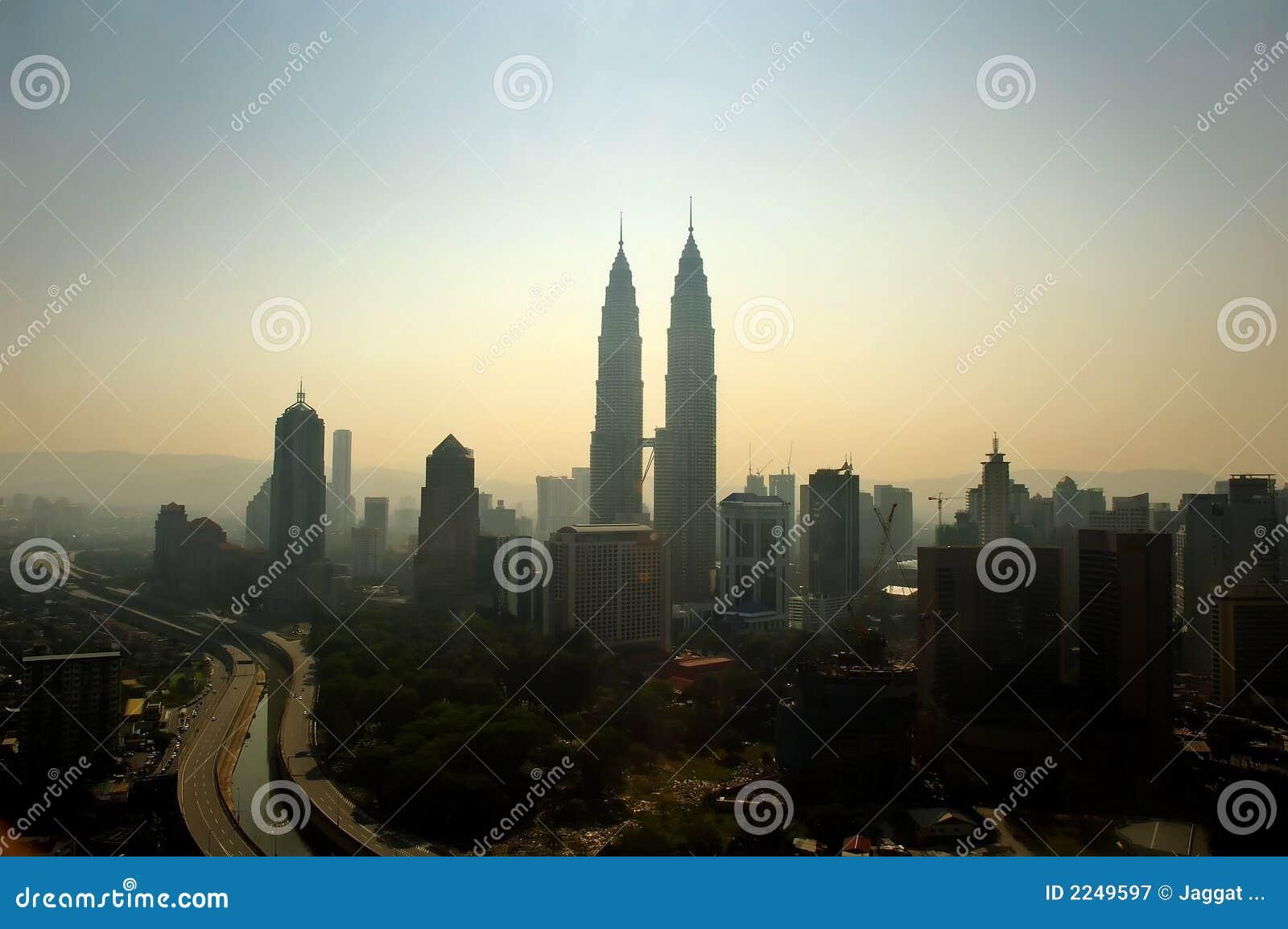 Ansicht von Kuala Lumpur