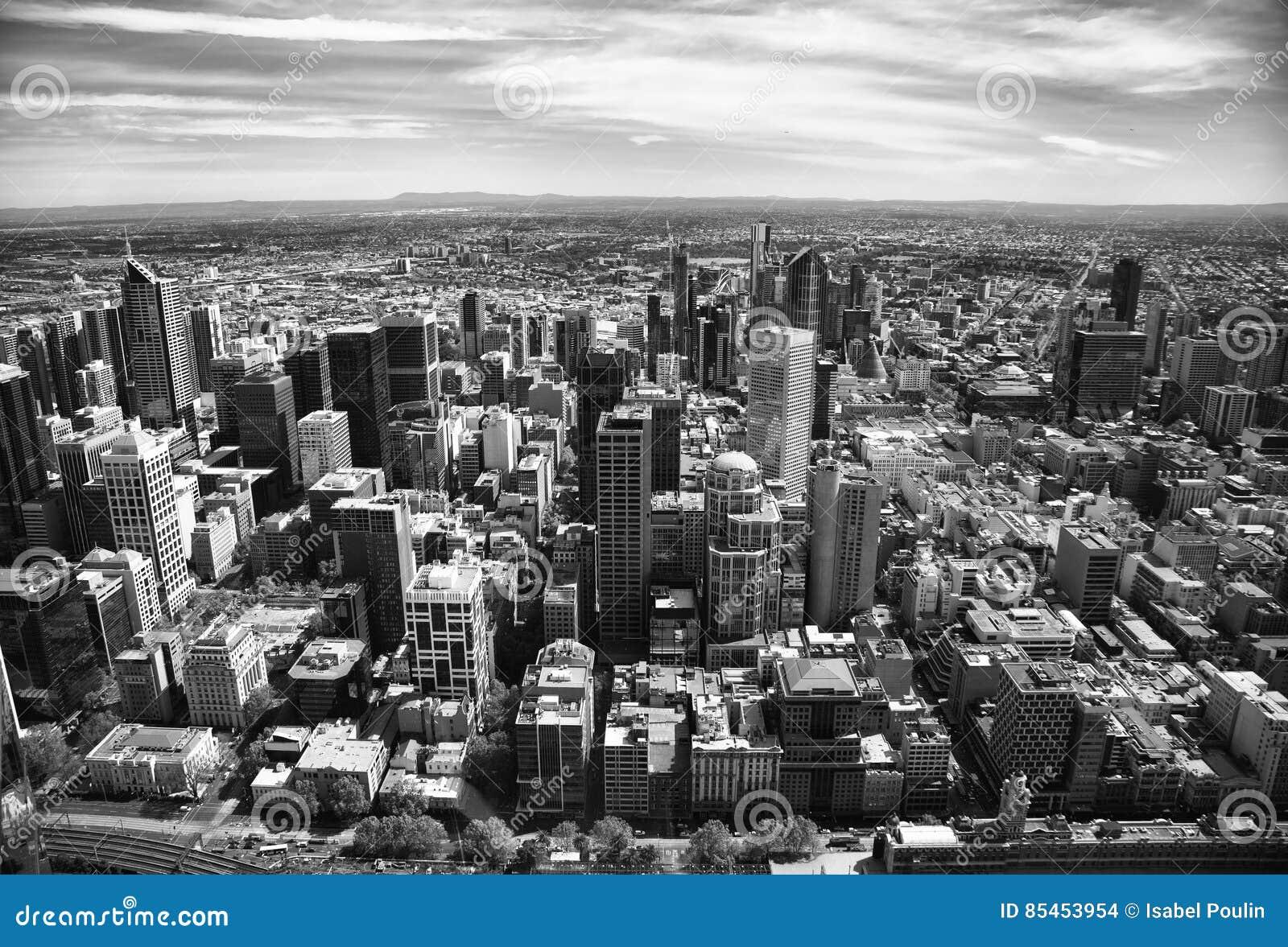 Ansicht von Melbourne-Stadt