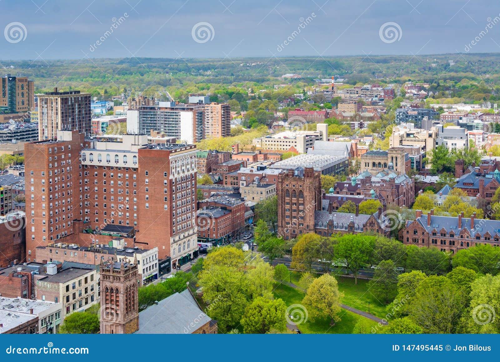 Ansicht von New-Haven, Connecticut