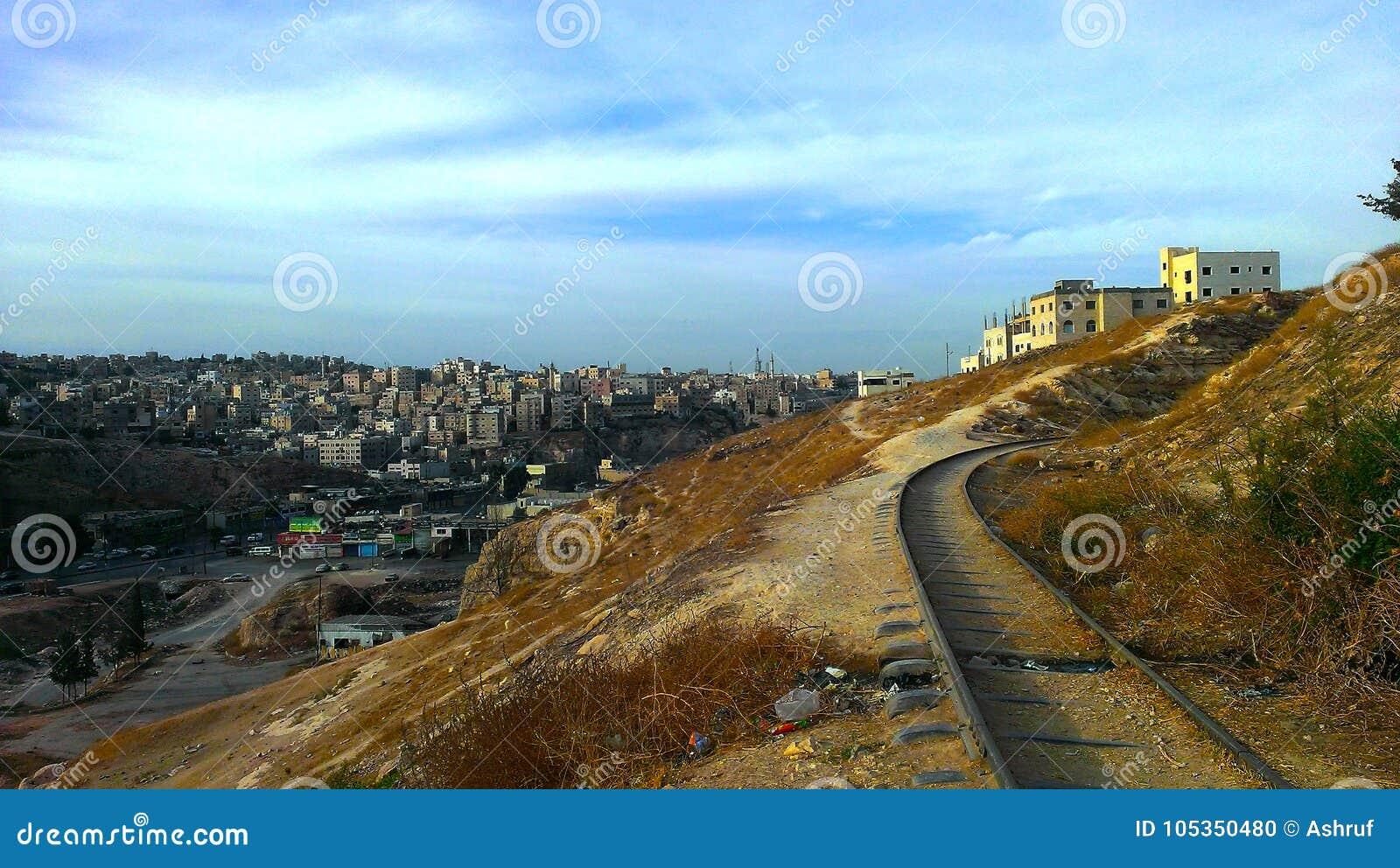 Ansicht von Ost-Amman, Jordanien