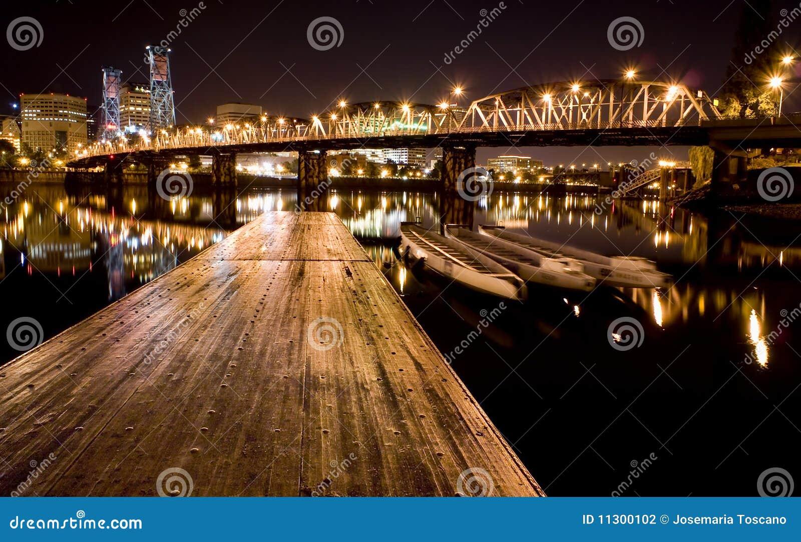Ansicht von Portland, Oregon-Stadtbild