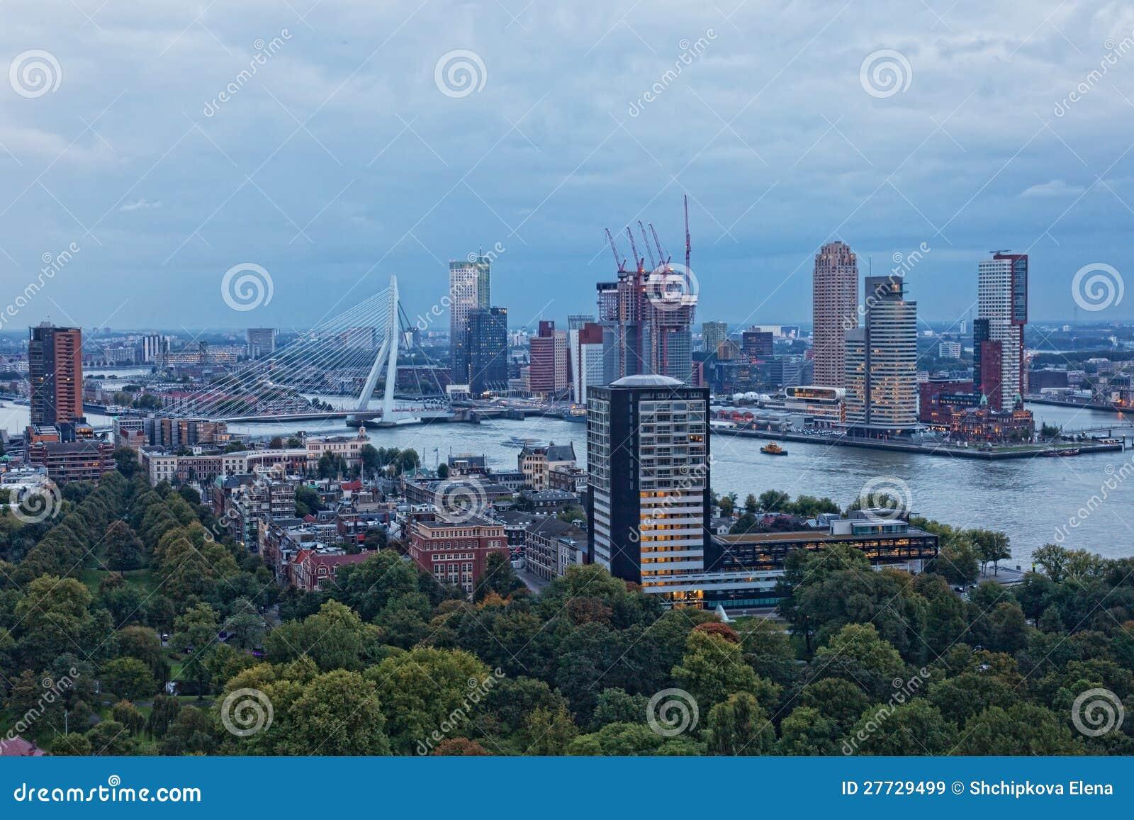 Ansicht von Rotterdam
