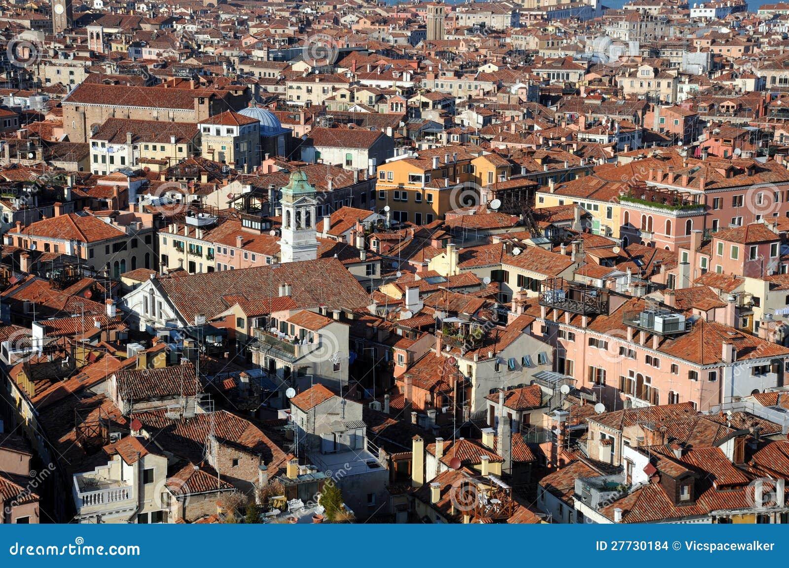 Ansicht von Venedig vom Glockenturm