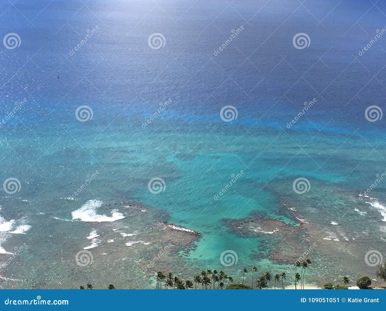 Ansicht von Wakiki-Bucht, Hawaii